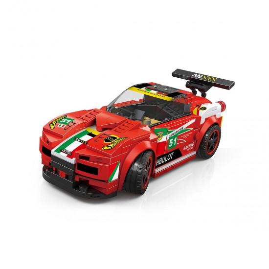 Lego Wange Super Car F458 Yapım Seti